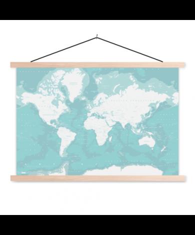 Oceans Classroom World Map