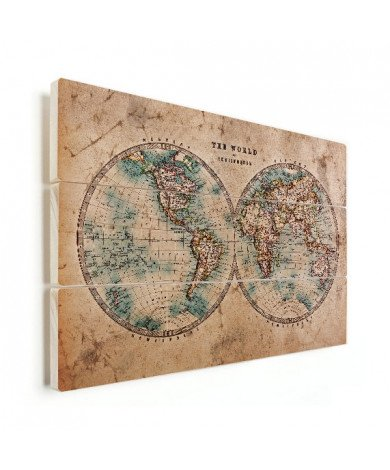 Hemisphere Paper Wood