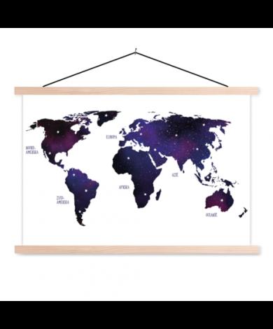 Galaxy Classroom World Map