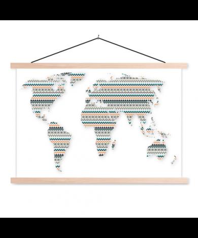 Aztecs Colour Classroom World Map