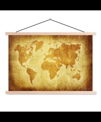 Parchment Classroom World Map