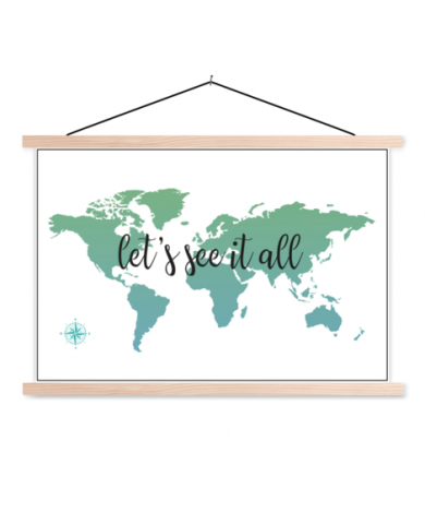 Text See It All With Compass Classroom World Map