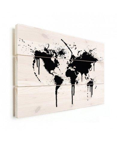Black Ink Wood