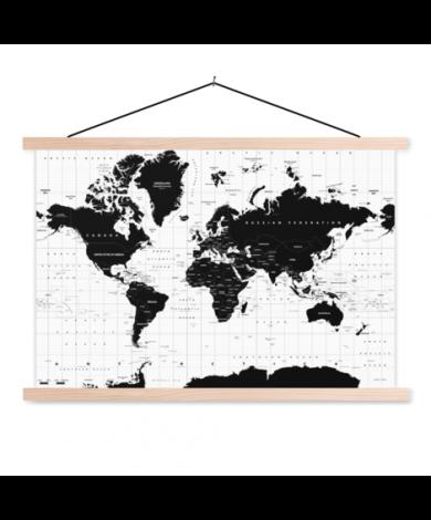 Informative Classroom World Map