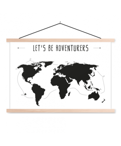 Text Adventures Classroom World Map