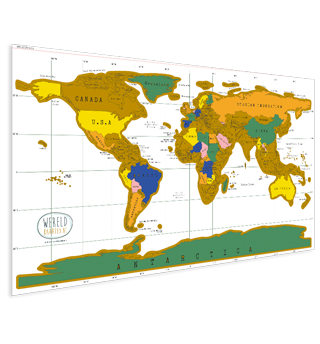 World maps for your wall worldmap scratch world map gumiabroncs Images
