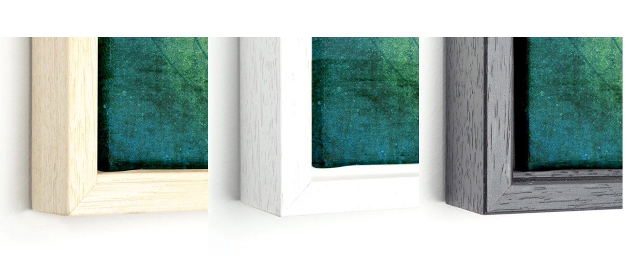 frames for world map on canvas