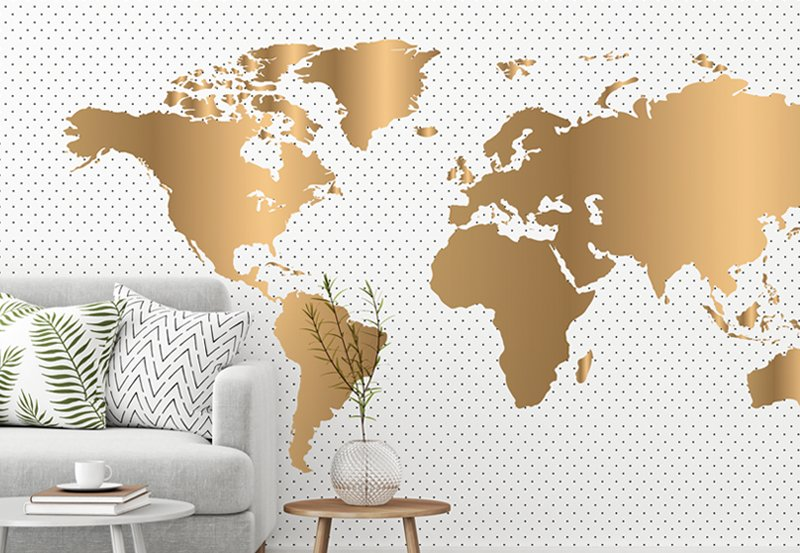Worldmap wallpaper